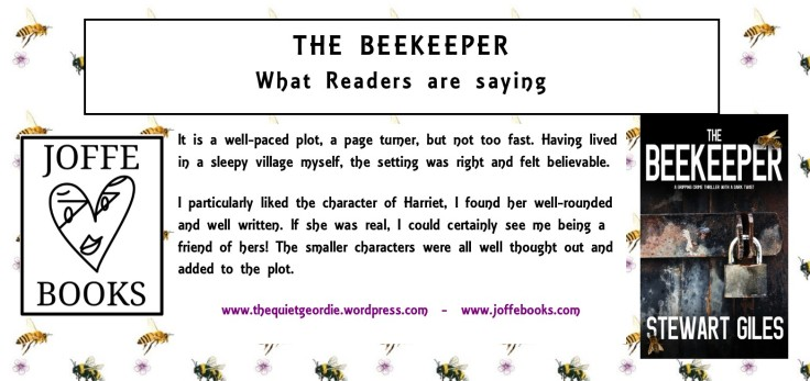 29-05-17 The Beekeeper what readers are saying