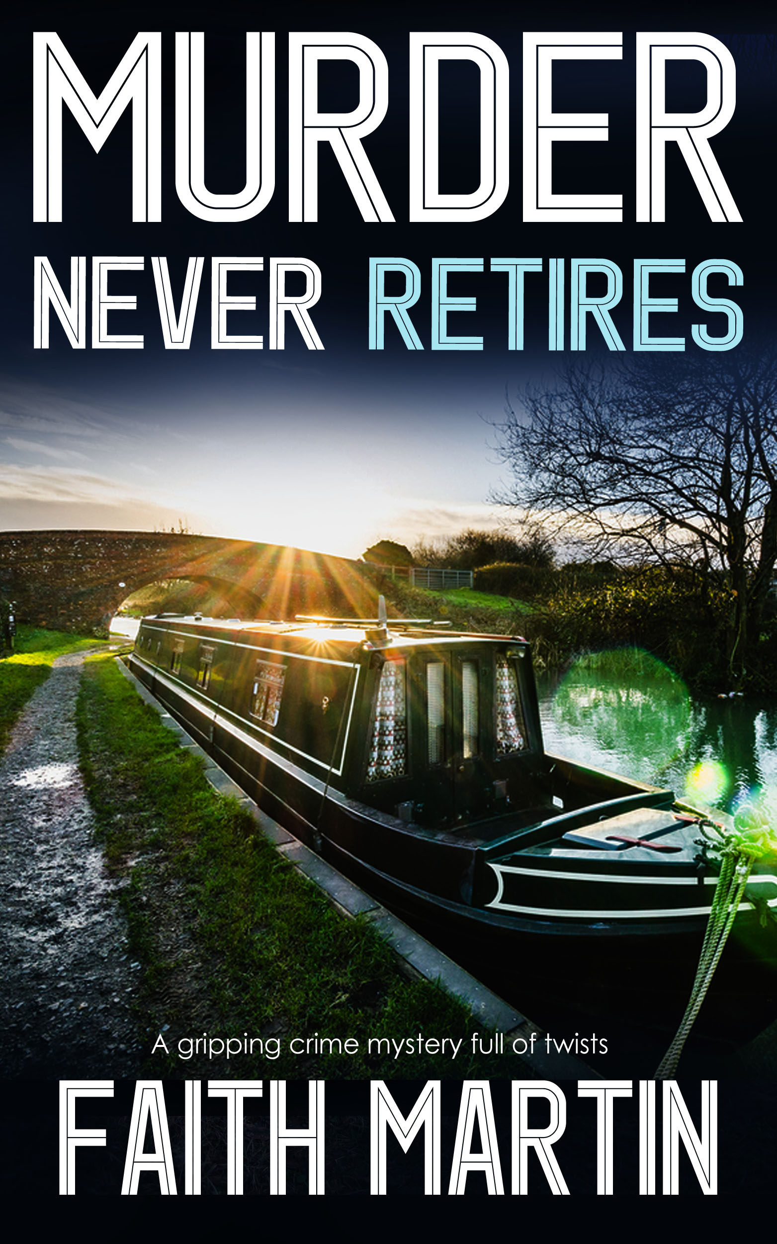 MURDER NEVER RETIRES cover