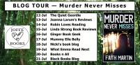 BLOG TOUR - Murder never misses