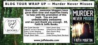BLOG TOUR wrap up - Murder never misses